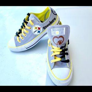 Converse Pittsburgh Steelers Ladies Shoe